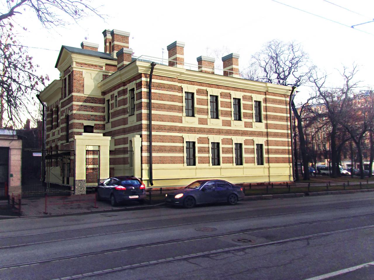 Реконструкция зданий памятников архитектуры 3