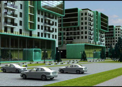 Проект многоквартирного жилого комплекса