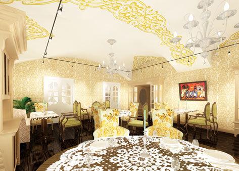 Эскизный проект Русского ресторана