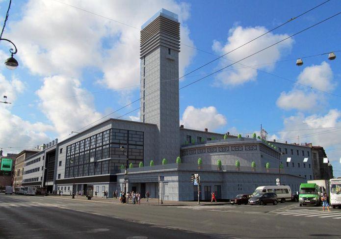 Концепция реконструкции Дворца культуры им.Ленсовета