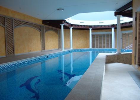 Загородный дом с бассейном (п.Зеркальный)