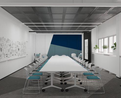 Офисные помещения Исследовательской лаборатории АО «Газпромнефть МЗСМ»