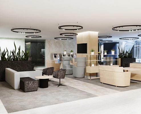 Офисные помещения в БЦ на ул.Почтамтской 3-5, предназначенные для размещения подразделений ПАО «Газпром нефть»