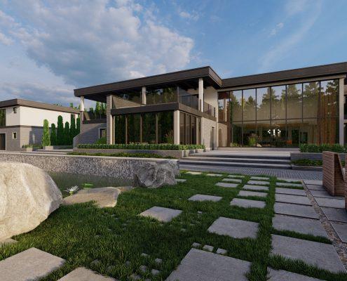 Частный дом в г. Зеленогорск